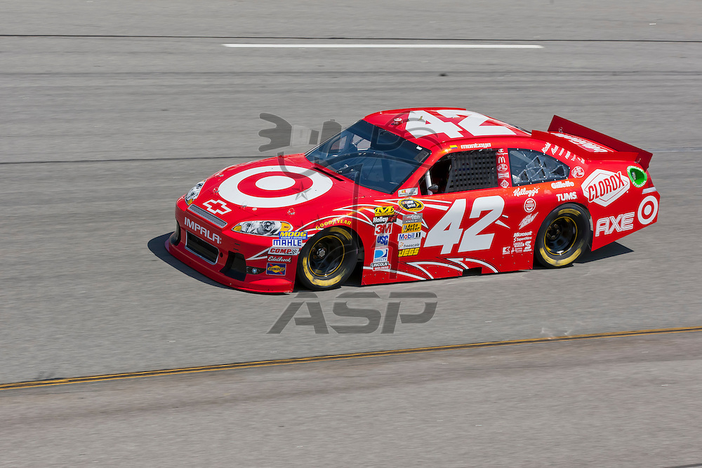 RICHMOND, VA - APR 27, 2012:  Juan Pablo Montoya (42) and his crew practice for the Capital City 400 Presented by Virginia Is For Lovers at the Richmond International Raceway in Richmond, VA.