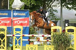 Hellström, Wilma, Caponera<br /> Redefin - Pferdefestival 2014<br /> Qualifikation - Kleine Tour<br /> © www.sportfotos-lafrentz.de/ Stefan Lafrentz