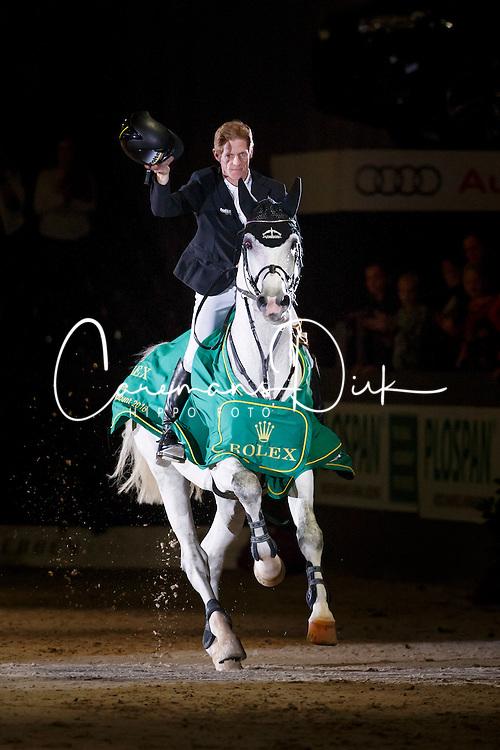 Ehning Marcus, (GER), Cornado NRW <br /> Indoor Brabant - 's Hertogenbosch 2016<br /> © Hippo Foto - Dirk Caremans<br /> 13/03/16
