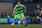 Forest Green Rovers Paul Digby(20) on the ball during the EFL Sky Bet League 2 match between Forest Green Rovers and Yeovil Town at the New Lawn, Forest Green, United Kingdom on 16 February 2019.