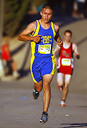 Oct, 20, 2006; Walnut, CA, USA; Erick Garcia of Parlier wins the Division IV sweepstakes race in 15:24 over the 2.91-mile course in the 59th Mt. San Antonio College Cross Country Invitational.