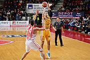 Thomas Zack<br /> Openjobmetis Varese - Carpegna Prosciutto Basket Pesaro<br /> Basket Serie A LBA 2019/2020<br /> Varese 15 December 2019<br /> Foto Mattia Ozbot / Ciamillo-Castoria