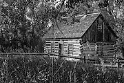 Photographs of Roosevelt Log Cabin in SD