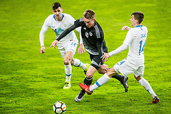 Miha Zajc of Slovenia during friendly football match between National teams of Slovenia and Belarus, on March 27, 2018 in SRC Stozice, Ljubljana, Slovenia. Photo by Vid Ponikvar / Sportida