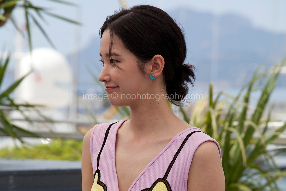 Actress Jong-seo Jeon at the Burning film photo call at the 71st Cannes Film Festival, Thursday 17th May 2018, Cannes, France. Photo credit: Doreen Kennedy