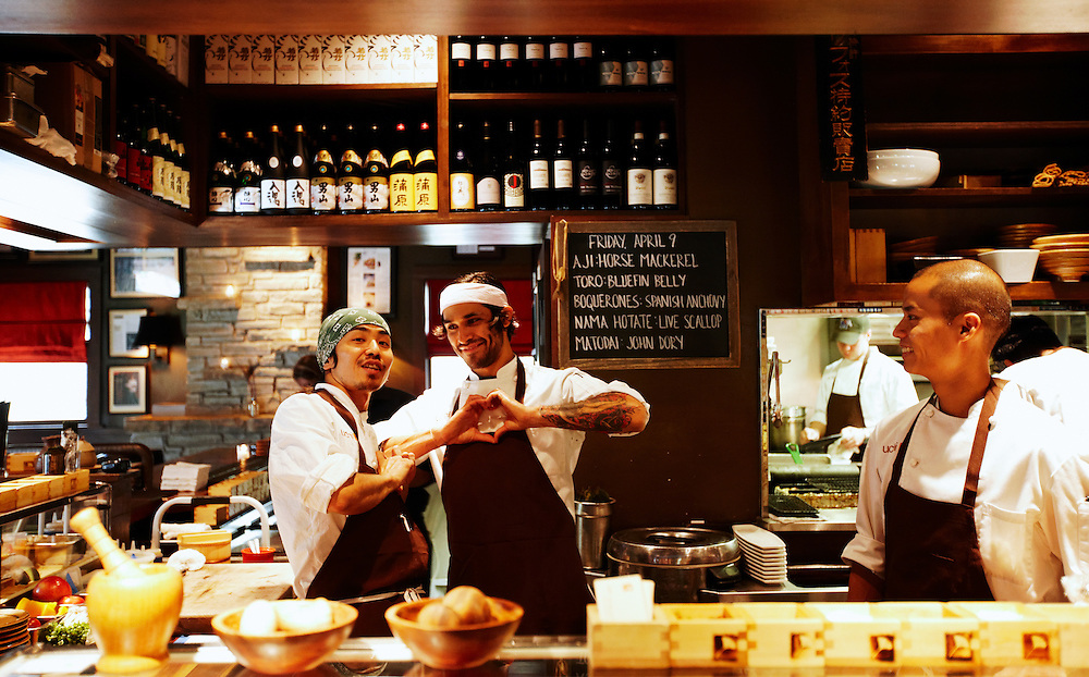 Uchi Restaurant, located in Austin, TX, showcases the culinary talents of executive chef and sushi master Tyson Cole..
