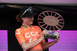 Stage winner, Marianne Vos (NED) at Ladies Tour of Norway 2019 - Stage 3, a 125 km road race from Moss to Halden, Norway on August 24, 2019. Photo by Sean Robinson/velofocus.com