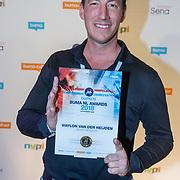 NLD/Utrecht/20181001 - Buma NL Awards 2018, Waylon van der Heijden neemt de award voor beste producer in ontvangst