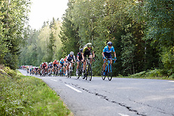 Lucy Kennedy (AUS) and Sarah Roy (AUS) during Ladies Tour of Norway 2019 - Stage 2, a 131 km road race from Mysen to Askim, Norway on August 23, 2019. Photo by Sean Robinson/velofocus.com