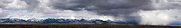 Storm, Sangre De Cristo Mountains, Colorado Panorama