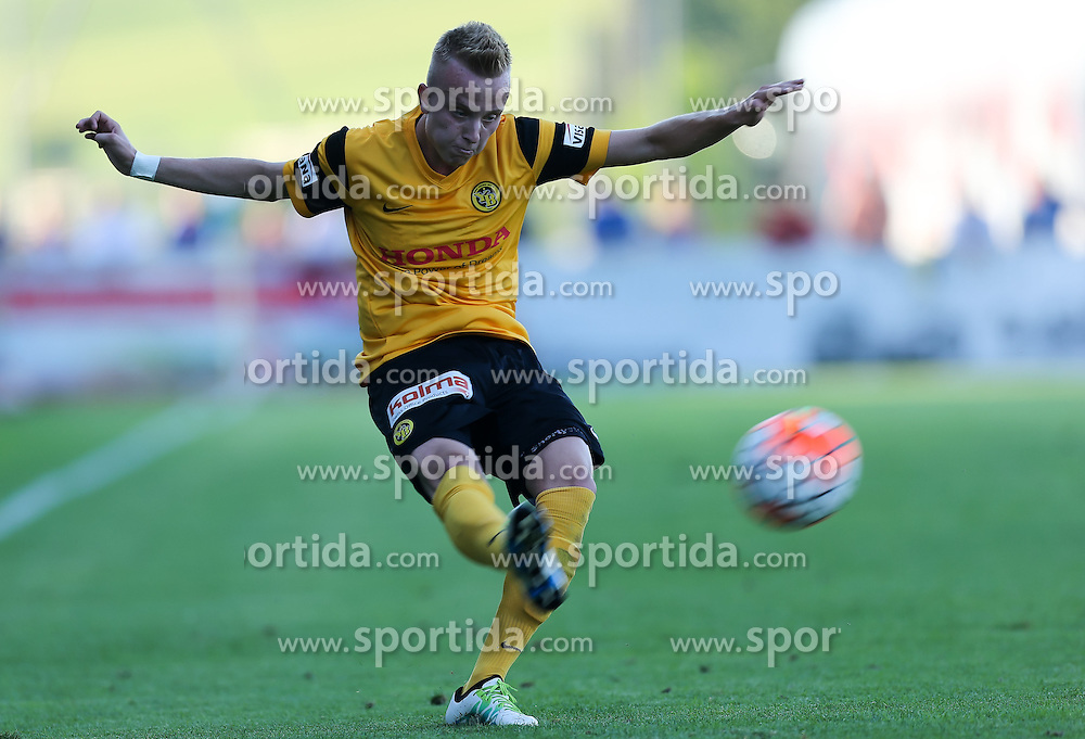 01.07.2016, Sportarena, Strasswalchen, AUT, Testspiel, FC Red Bull Salzburg vs BSC Young Boys, im Bild Florent Hadergjonaj (BSC Young Boys Bern) // during a friendly football match between FC Red Bull Salzburg and BSC Young Boys at the Sportarena in Strasswalchen, Austria on 2016/07/01. EXPA Pictures © 2016, PhotoCredit: EXPA/ Roland Hackl