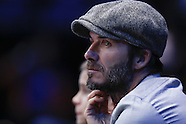 London- Beckham at ATP Tennis - 17 Nov 2016