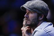 London- Beckham at ATP Tennis - 17 Nov 2016