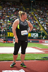 2012 USA Track & Field Olympic Trials: Camerena-Williams, womens shot put