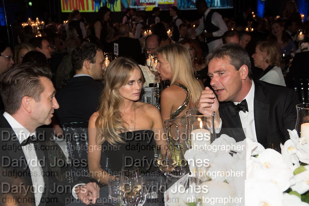 CRESSIDA BONAS, Luminous -Celebrating British Film and British Film Talent,  BFI gala dinner & auction. Guildhall. City of London. 6 October 2015.