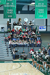 07 December 2016:  Titan pep band during an NCAA men's division 3 CCIW basketball game between the North Park Vikings and the Illinois Wesleyan Titans in Shirk Center, Bloomington IL