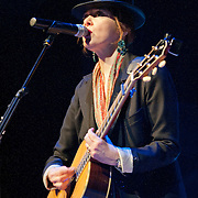 Canadian singer Suzanne Vega make an appearance at the Celtic Connections 2014 at The Glasgow City Halls (PLEASE DO NOT REMOVE THIS CAPTION)<br />