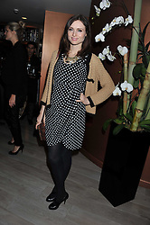 SOPHIE ELLIS-BEXTOR at a party to launch Senkai - London's first modern Japanese-inspired restaurant at 65 Regent Street, London on 26th October 2011.