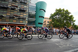 Ella Harris (NZL) during Stage 4 of 2020 Santos Women's Tour Down Under, a 42.5 km road race in Adelaide, Australia on January 19, 2020. Photo by Sean Robinson/velofocus.com