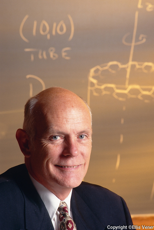 Portrait of  1996 Nobel Prize for Chemistry Co-laureate Richard E. Smalley (1943-2005)