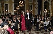 Tamara Ecclestone and her escort Guilhem de Castelbajac. Crillon Haute Couture Ball. Crillon Hotel, Paris. 2 December 2000. © Copyright Photograph by Dafydd Jones 66 Stockwell Park Rd. London SW9 0DA Tel 020 7733 0108 www.dafjones.com
