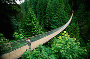 Canada, British Columbia, Vancouver, Capilano Suspension Bridge