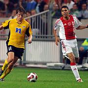 NLD/Amsterdam/20060928 - Voetbal, Uefa Cup voorronde 2006, Ajax - IK Start, Geir Ludvig Fevang