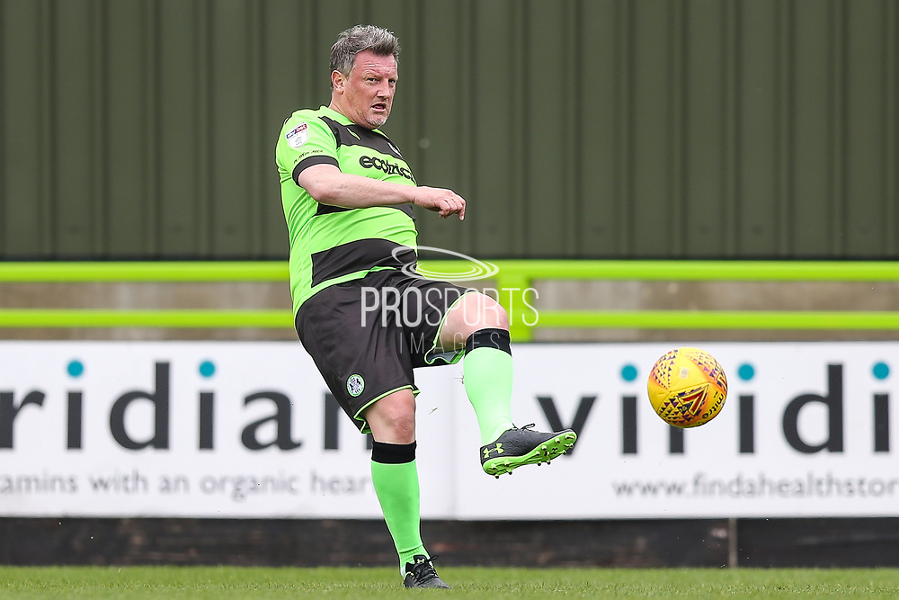 Forest Green Legends Wayne Hatswell during the Trevor Horsley Memorial Match held at the New Lawn, Forest Green, United Kingdom on 19 May 2019.