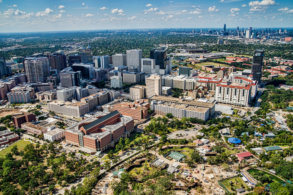 Texas Medical Center, Rice University & Hermann Park