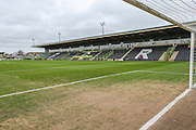 General stadium view of the New Lawn during the Vanarama National League match between Forest Green Rovers and Woking at the New Lawn, Forest Green, United Kingdom on 25 February 2017. Photo by Shane Healey.