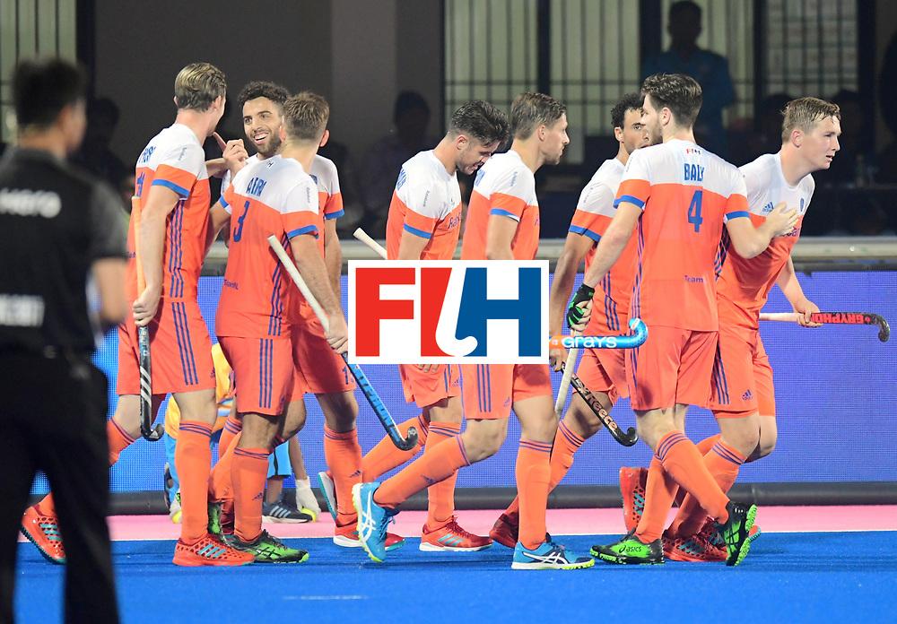 Odisha Men's Hockey World League Final Bhubaneswar 2017<br /> Match id:08<br /> Netherlands v Argentina<br /> Foto: Valentin Verga (Ned) scored a goal<br /> WORLDSPORTPICS COPYRIGHT FRANK UIJLENBROEK