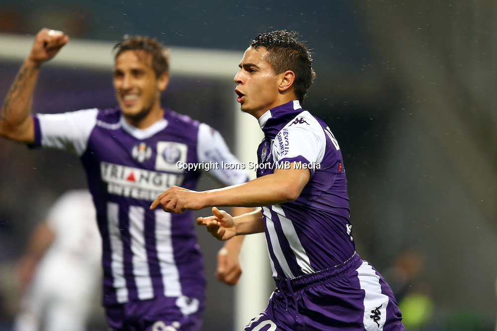 Joie Wissam Ben Yedder - 21.03.2015 - Toulouse / Bordeaux - 30eme journee de Ligue 1<br />Photo : Manuel Blondeau / Icon Sport