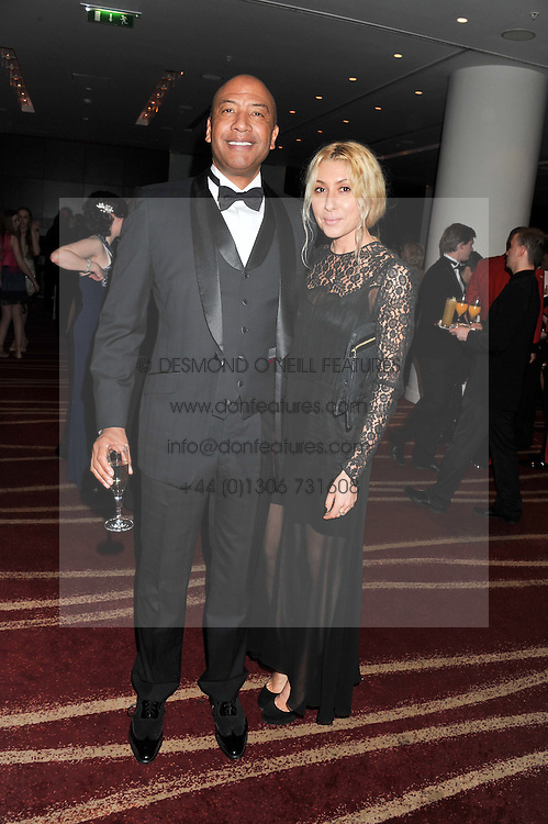 JOHNNY EKPERIGIN and KARINA CONSTANTINE at the Soldiering On Awards 2013 held at the Park Plaza Hotel, Westminster Bridge, London SE1 on 23rd March 2013.