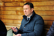 Plymouth Argyle manager Derek Adams before the Sky Bet League 2 match between Plymouth Argyle and York City at Home Park, Plymouth, England on 28 March 2016. Photo by Graham Hunt.