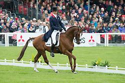 Fox Pitt William, (GBR), Chilli Morning<br /> Dressage <br /> Mitsubishi Motors Badminton Horse Trials - Badminton 2015<br /> © Hippo Foto - Jon Stroud<br /> 08/05/15