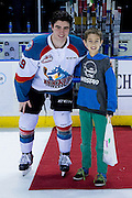 KELOWNA, CANADA - FEBRUARY 22:  Second Star of the Game Dillon Dube #19 of the Kelowna Rockets at the Kelowna Rockets game on February 22, 2017 at Prospera Place in Kelowna, British Columbia, Canada.  (Photo By Cindy Rogers/Nyasa Photography,  *** Local Caption ***