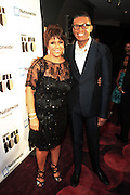 November 2, 2012- New York, NY: (L-R) Linda Johnson Rice, Chair, Johnson Publishing Company and Designer b. Michaels at the Ebony Power 100 Gala Presented by Nationwide held at Jazz at Lincoln Center on November 2, 2012 in New York City. The EBONY Power 100 Gala Presented by Nationwide salutes the country's most influential African Americans. (Terrence Jennings)