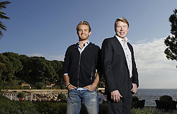 Mercedes AMG Petronas Pilot Nico Rosberg has the twofold Formula 1 World Champion Mika Häkkinen in Monaco before the latest Edition the famous Grand Prix in motor aviation taken After a Short Interview are The both in a Mercedes Benz SLS AMG Roadster. Photo By imago/i-Images