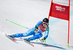 15.02.2014, Rosa Khutor Alpine Resort, Krasnaya Polyana, RUS, Sochi, 2014, Super G, Damen, im Bild Tina Maze (SLO) // Tina Maze of Slovenia in action during the ladies Super G to the Olympic Winter Games Sochi 2014 at the Rosa Khutor Alpine Resort, Krasnaya Polyana, Russia on 2014/02/15. EXPA Pictures © 2014, PhotoCredit: EXPA/ Johann Groder