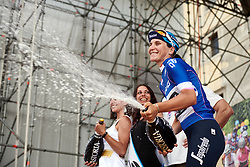 Elisa Longo Borghini (ITA) is the best Italian after Stage 10 of 2019 Giro Rosa Iccrea, a 120 km road race from San Vito al Tagliamento to Udine, Italy on July 14, 2019. Photo by Sean Robinson/velofocus.com