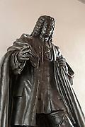 Denkmal Johann Sebastian Bach in der Georgenkirche, Eisenach, Thüringen, Deutschland | memorial of Joh. Seb. Bach in St. George church, Eisenach, Thuringia, Germany