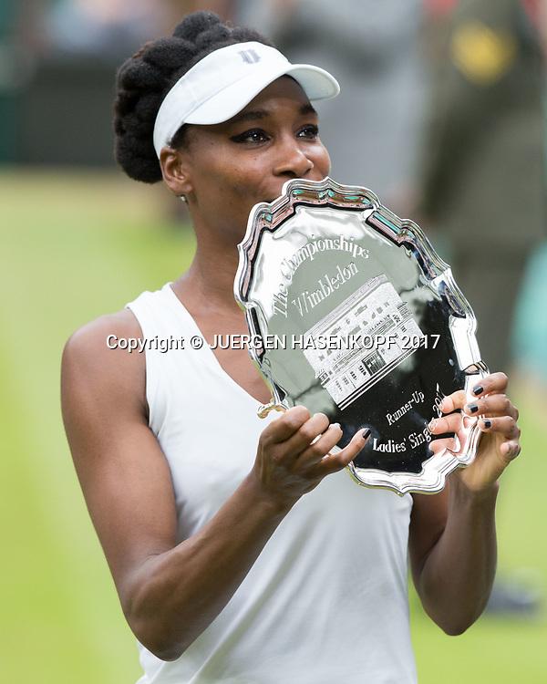 VENUS WILLIAMS (USA), Endspiel, Final<br /> <br /> Tennis - Wimbledon 2016 - Grand Slam ITF / ATP / WTA -  AELTC - London -  - Great Britain  - 15 July 2017.