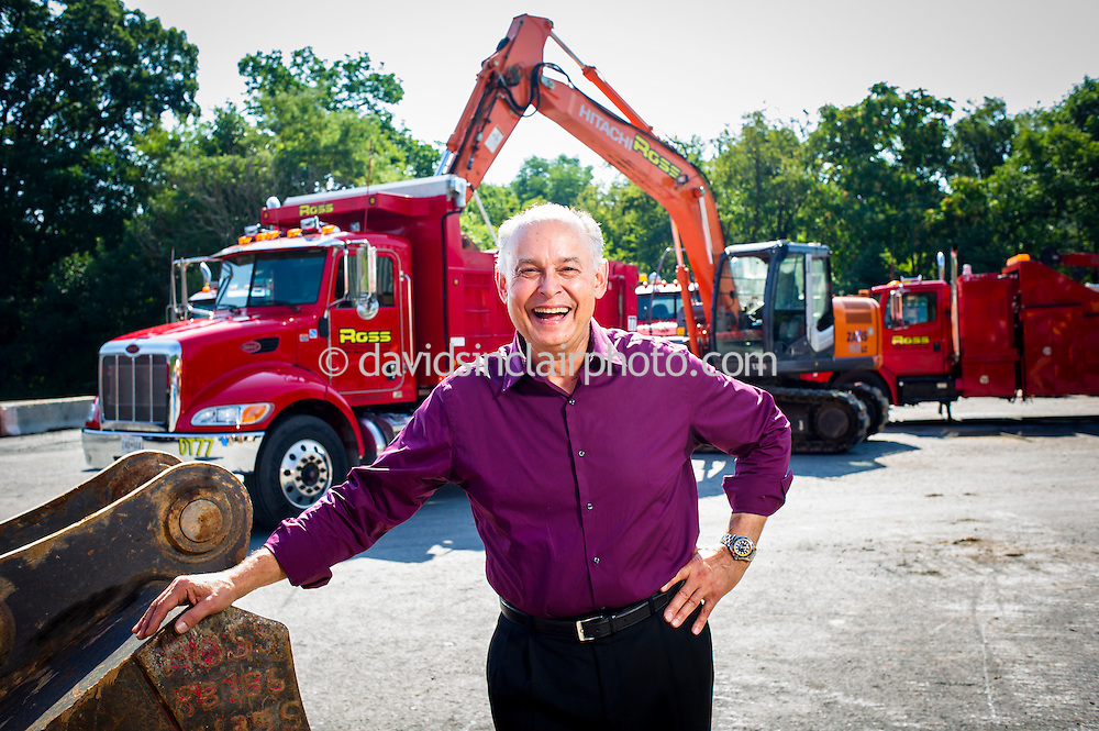 9/8/16, Mt. Airy, Ross Contracting ... <br /> Jonathan Kuentz Chief Equipment Manager for Ross Contracting.