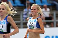 26.8.20112, Hiihtostadion, Lahti..Yleisurheilun Kalevan Kisat 2012. .Naisten 5000 m..Oona Kettunen - Karhulan Katajaiset