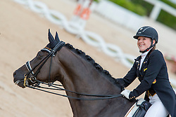 Abbelen Anna Christina (GER) - Fuerst on Tour<br /> European Championships Dressage Junior and Young Riders 2014<br /> © Hippo Foto - Leanjo de Koster