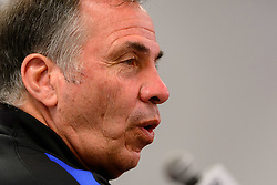 August 31, 2017 - Harrison, New Jersey, United States - Harrison, NJ - Thursday Aug. 31, 2017: Bruce Arena during a training day prior to a FIFA World Cup Qualifier between the United States (USA) and Costa Rica (CRC) at Red Bull Arena. (Credit Image: © Howard C. Smith/ISIPhotos via ZUMA Wire)