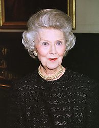 LADY ROSS at a reception in London on 3rd March 1999.MOZ 20