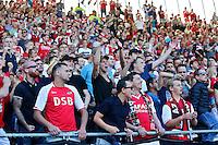 ALKMAAR - 09-08-2015, AZ - Ajax, AFAS Stadion, supporters.