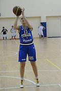 DESCRIZIONE : Roma Acqua Acetosa amichevole Nazionale Italia Donne<br /> GIOCATORE : Deborah Vicenzotti<br /> CATEGORIA : tiro<br /> SQUADRA : Nazionale Italia femminile donne FIP<br /> EVENTO : amichevole Italia<br /> GARA : Italia Lazio Basket<br /> DATA : 27/03/2012<br /> SPORT : Pallacanestro<br /> AUTORE : Agenzia Ciamillo-Castoria/GiulioCiamillo<br /> Galleria : Fip Nazionali 2012<br /> Fotonotizia : Roma Acqua Acetosa amichevole Nazionale Italia Donne