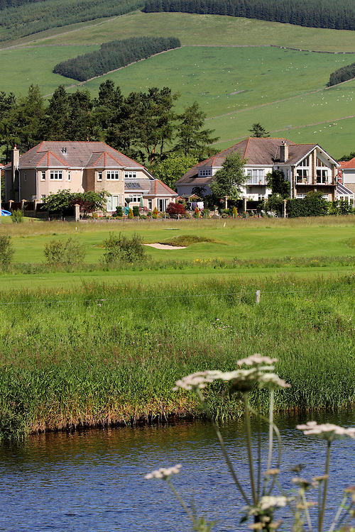 Cardrona Village, a modern housing development in the stunningTweed Valley in the Scottish Borders